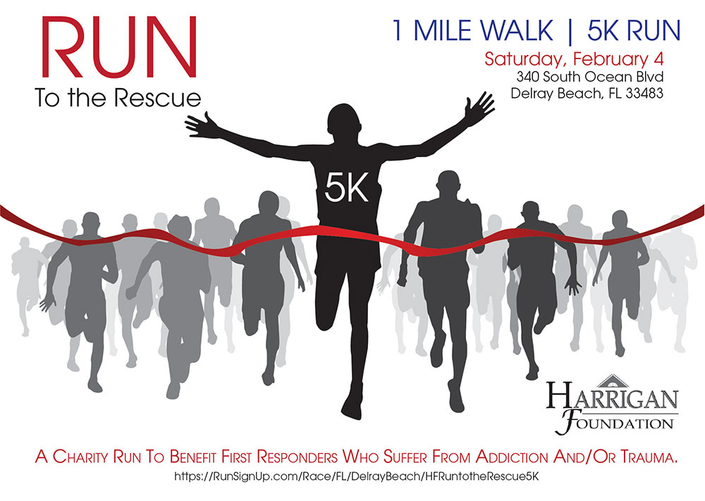 Run to the Rescue information flyer