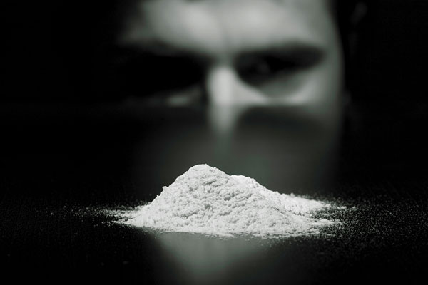 being drawn into the addiciton of cocaine